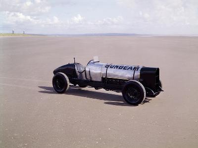 A 1920 350Hp Sunbeam, Pendine Sands, Wales--Photographic Print