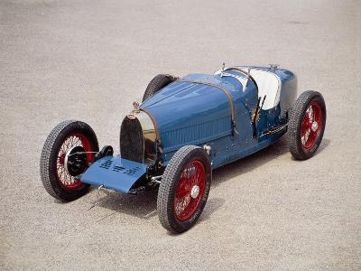 A 1924 Bugatti Type 35--Photographic Print