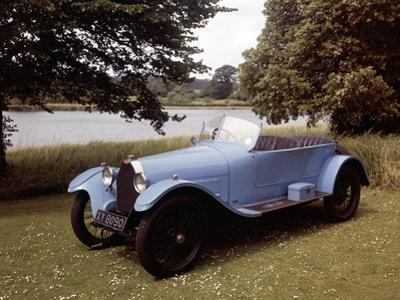 A 1925 Bugatti