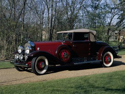 A 1930 Cadillac V16 Model 452--Photographic Print