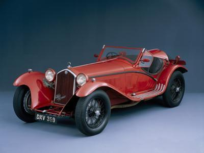 A 1933 Alfa Romeo 8C 2300 Corto