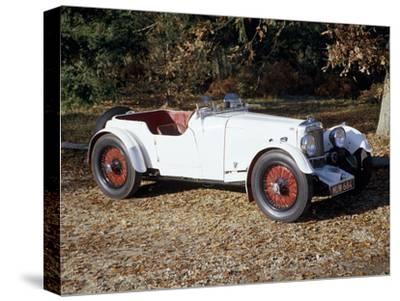 A 1933 Aston Martin Le Mans Car