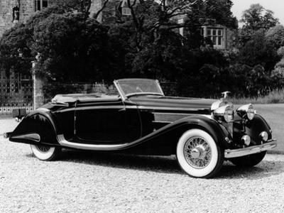 A 1937 Hispano-Suiza K6 Car