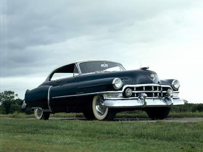 A 1950 Cadillac 60S 2 Door Coupe--Photographic Print