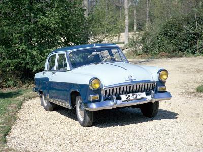 A 1960 Volga--Photographic Print