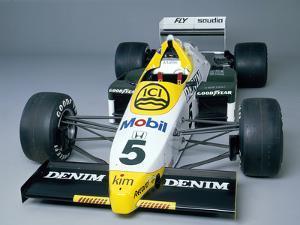 A 1984 Williams Fw09B
