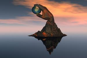 A 3D Conceptual Image of the World at Your Fingertips