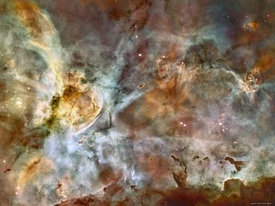 A 50-Light-Year-Wide View of the Central Region of the Carina Nebula-Stocktrek Images-Photographic Print