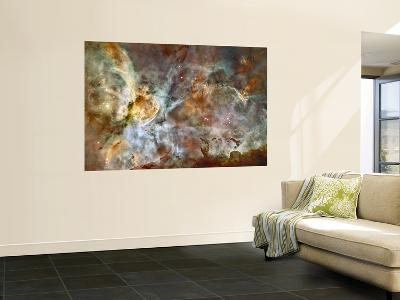 A 50-Light-Year-Wide View of the Central Region of the Carina Nebula--Wall Mural