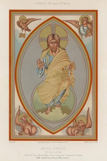 A 9th-Century Depiction of Jesus Christ--Giclee Print