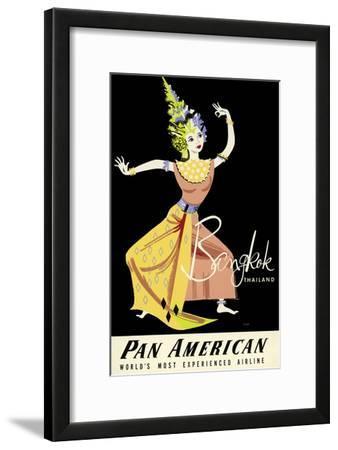 Bangkok, Thailand - Pan American Airlines (PAA) - Thai Woman Classical Dancer