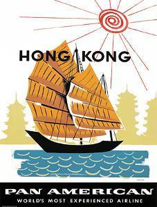 Pan American World Airways / Hong Kong. . by A. AMSPOKER