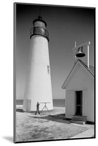 Cove Point Lighthouse, Maryland by A. Aubrey Bodine
