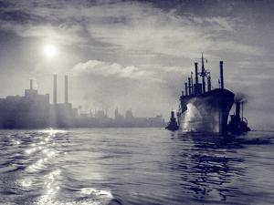 Dawn Arrival by A. Aubrey Bodine