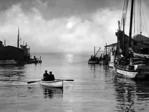 In the Harbor, Crisfield, Maryland 1947 by A. Aubrey Bodine