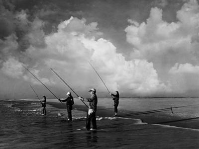 Ocean Fishing by A. Aubrey Bodine