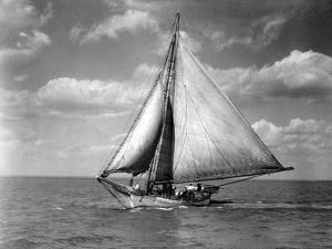 Skipjack, Robert L. Webster by A. Aubrey Bodine