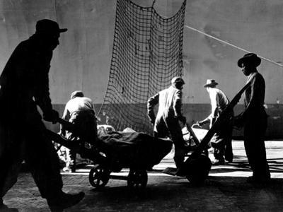 Stevedores at Work by A. Aubrey Bodine