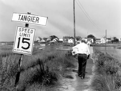 Tangier Island, Virginia by A. Aubrey Bodine
