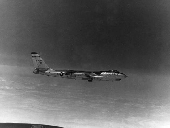 A B-57 of the United States Air Force Weather Agency--Photographic Print