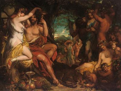 A Bacchanalian Revel-William Etty-Giclee Print