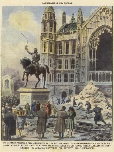 A Bad Omen for England--Giclee Print