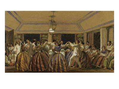 A Ball in the Philippines-C.W. Andrews-Giclee Print