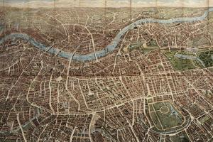 A Balloon View of London, Published by Banks and Company, 1851
