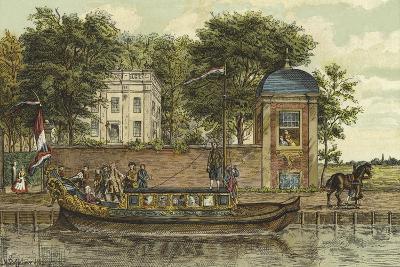 A Barge, Netherlands, 18th Century-Nico Steffelaar-Giclee Print