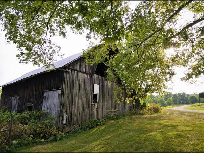 A Barn in the Maple Grove Road Rural Historic District-Steve Raymer-Photographic Print