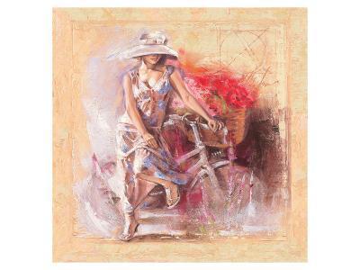 A Basket Full of Flower-Talantbek Chekirov-Premium Giclee Print