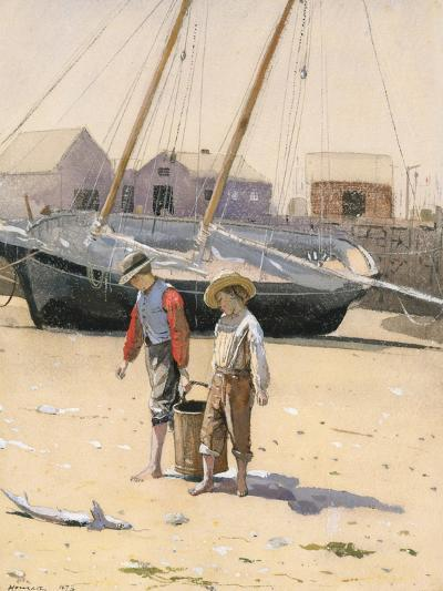 A Basket of Clams, 1873-Winslow Homer-Giclee Print