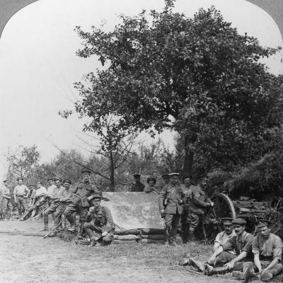 A Battery of Royal Field Artillery Enjoying a Few Hours Rest in a Wood, World War I, C1914-C1918--Photographic Print
