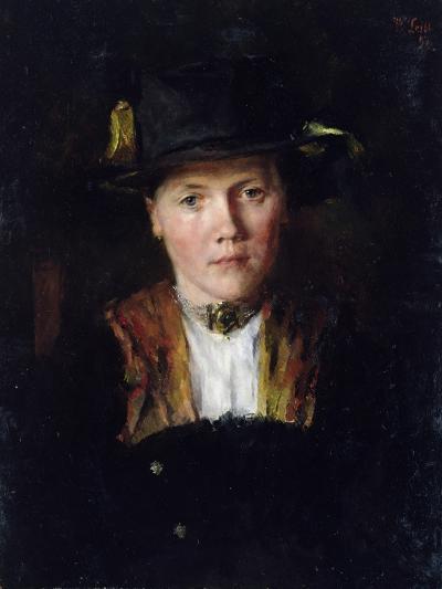 A Bavarian Girl, 1897-Wilhelm Maria Hubertus Leibl-Giclee Print