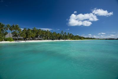 A Beach at a Resort in the Maldive Islands-Michael Melford-Photographic Print