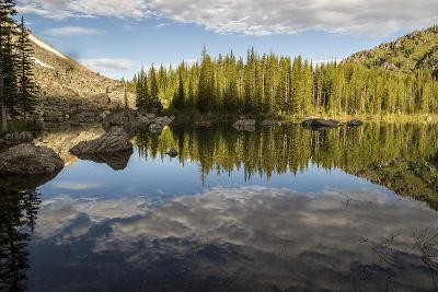 A Beautiful Alpine Lake Glows in the Morning Light, Deep in the Swan Mountain Range-Ami Vitale-Photographic Print