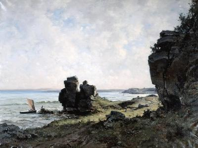 A Beautiful Morning at the Coast of Brittany, 1882-Emmanuel Lansyer-Giclee Print