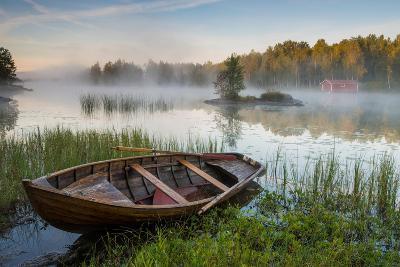 A Beautiful Morning at the Lake-Robin Eriksson-Photographic Print