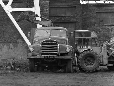 A Bedford 7 Ton Tipper Being Loaded at Rossington Colliery, Near Doncaster, 1963-Michael Walters-Photographic Print