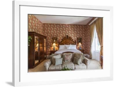 A Bedroom in Antrim 1844, a Restored Plantation House in Taneytown, Maryland-Richard Nowitz-Framed Photographic Print