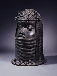 A Benin Bronze Head, circa Before 1810