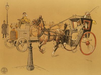 A Berliet Lorry, 1906--Giclee Print
