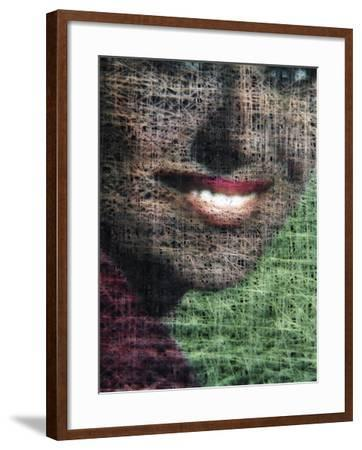 A Big, Toothy Smile--Framed Photographic Print