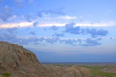 A Bighorn Sheep, Ovis Canadensis, on Ridge in Badlands National Park-Donna O'Meara-Photographic Print