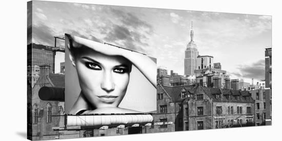 A Billboard in Manhattan-Julian Lauren-Stretched Canvas Print