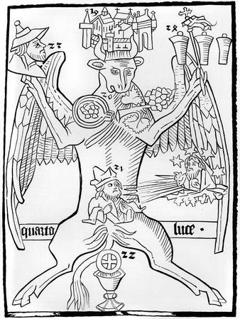 Luke, from Ars Memorandi, C1470