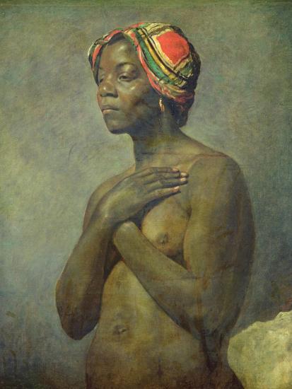 A Black Woman--Giclee Print