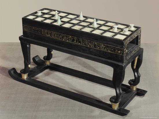 A Board Game of Senet, Egypt, North Africa-Robert Harding-Photographic Print