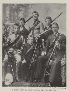 A Boer Family of Sharpshooters at Johannesburg