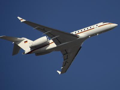 A Bombardier Global 5000 VIP Jet of the German Air Force-Stocktrek Images-Photographic Print